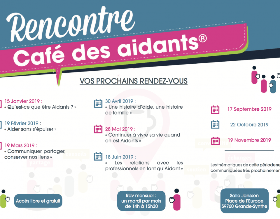 Cafe des aidants Polyclinique grande synthe